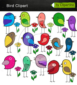 Colorful Birds clipart