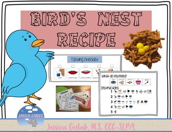 Bird's Nest Recipe and Comprehension Questions