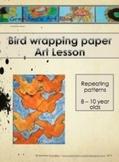 Bird Patterns Art Lesson