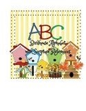 Birdhouse Alphabet
