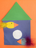 Birdhouse Cut and Paste Craftivty