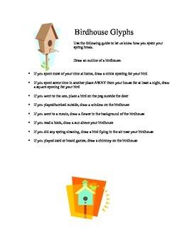 Birdhouse Glyphs