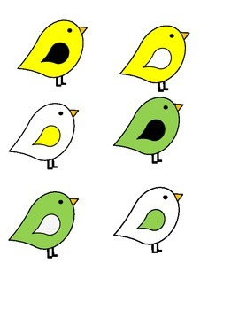 Birdhouse Job Assignment Bulletin Board (Larger Rainbow Houses)