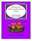 Birdhouse Math Performance Task - Geometry