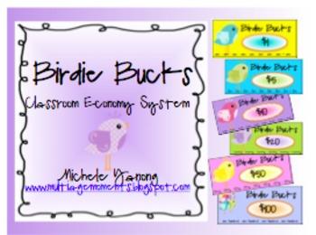Birdie Bucks Classroom Economy Set
