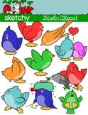 Birdies / Birds / Bird Clip art - Graphics
