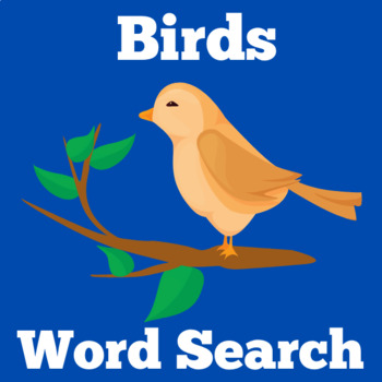 All About Birds | Birds Word Search | Birds Worksheet