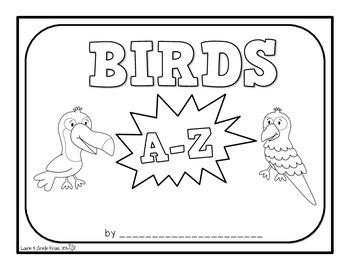 Birds A-Z Book
