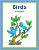 Birds Activity Fun