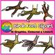 Birds Adaptations Clipart (Beaks and Feet)