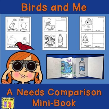Birds And Me: Comparative Mini-Booklet FREEBIE