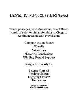 Birds, Barnacles and Bats!