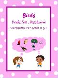 Birds  - Beaks, Feet, Nests and More /Google Classroom Dis