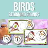 Birds Beginning Sounds Matching for Spring