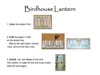 Birds! Birds! Birds! * Peek-a-boo Birdhouse * Fun & EZ Craft