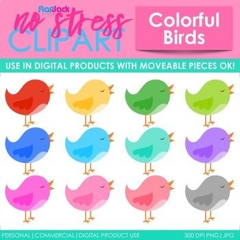 Birds Clip Art (Digital Use Ok!)