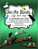 Birds Clip Art: For the Birds Graphics for Commercial Use