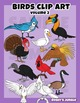 Birds Clip Art Set Volume 2