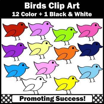 Birds Clip Art, Spring Clipart, Summer Clip Art, Birds Classroom Theme Ideas