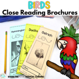 Birds Close Reading Passages with Questions