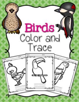 Birds Color and Trace