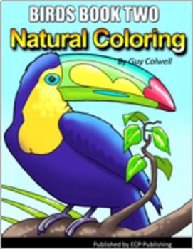 Birds Coloring Book Two