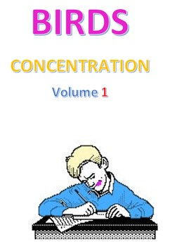 Birds Concentration Volume 1