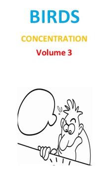 Birds Concentration Volume 3