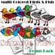Birds & Fish Clip Art