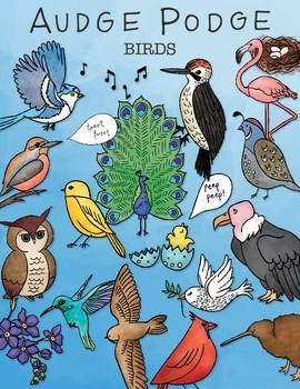 Birds Graphic Pack