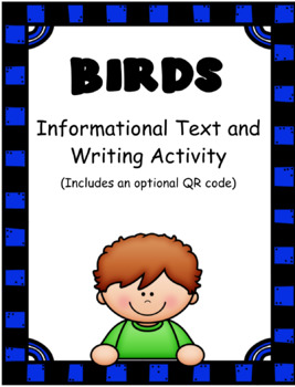 Birds: Informational Text and Writing Activity