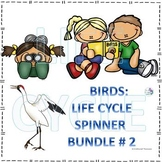 Birds Life Cycle Spinner Bundle #2