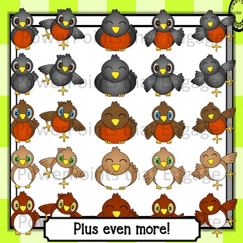 Birds Mega Clip Art Pack