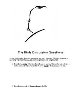 Birds Movie Classroom Packet