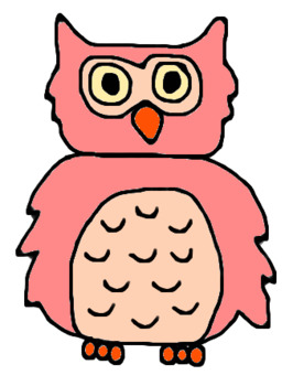 Birds, Owls, and Flower Power Clipart Bundle