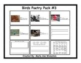 Birds Poetry Pack #3