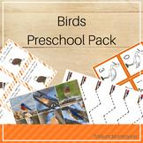 Birds Preschool Pack