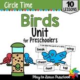Birds Preschool Unit