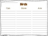 Birds Research Project