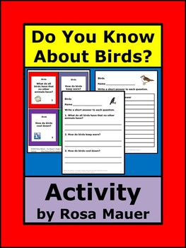 Do You Know About Birds? Questions