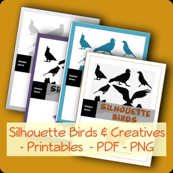 Birds Silhouette Printable Images