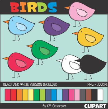 Birds Spring Clip Art