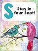 Birds Themed Rules Freebie: Watercolor Design