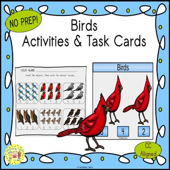 Birds Worksheets Activities Games Printables and More