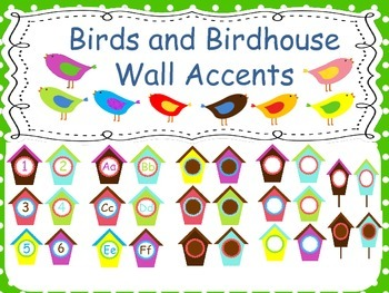 Birds and Birdhouse Wall Decor and Wall Accents