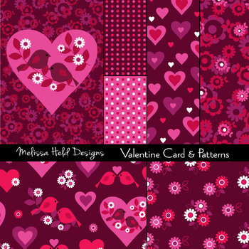 Valentine Card and Patterns