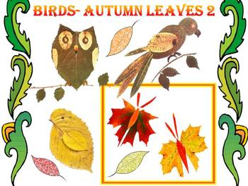 Fall - Crafts - Autumn leaves - Birds -  PowerPoint presentation