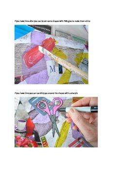 Art idea : Birds eye view art