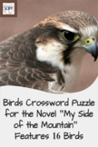 "Birds in ""My Side of the Mountain"" Crossword Puzzle - Feat"