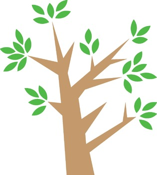 Birds in Tree Clip Art